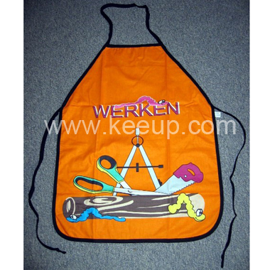 Fashion Polyester Apron With Printing For Advertising