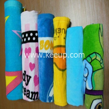 Different style microfibre beach towels