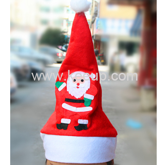 Wholesale Christmas hat with custom printed logo