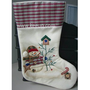 Christmas Embroidery Stocking