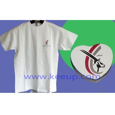 Advertising Heart Shape Compress T-shirts