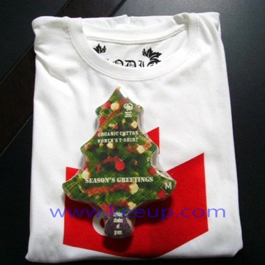 Wholesale Christmas Tree Compressed t-shirt