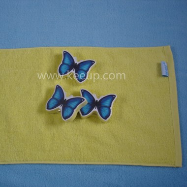 Butterfly Shaped Compressed Towels