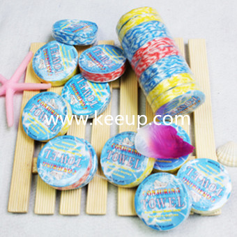 Wholesale cheap cotton compressed towel for promotional gifts