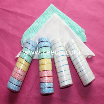 Wholesale cheap cotton compressed towel with customized logo
