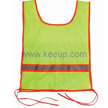Promotional Fluorescent Lime Garment