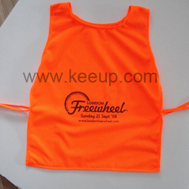 Customized Reflective Safety Bib For Kids