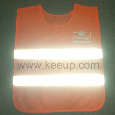 High Visibility Polyester Vests For Roadway Safety