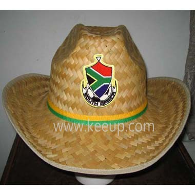 Custom Straw Hat With Logo Band