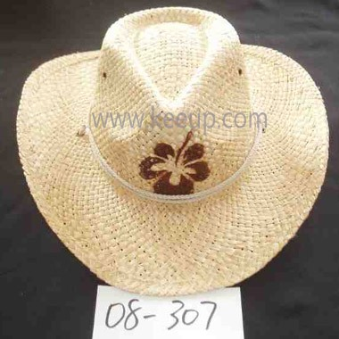 Straw Cowboy Hat For Wholesale