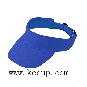 Custom logo branding sun visor cap for promotion