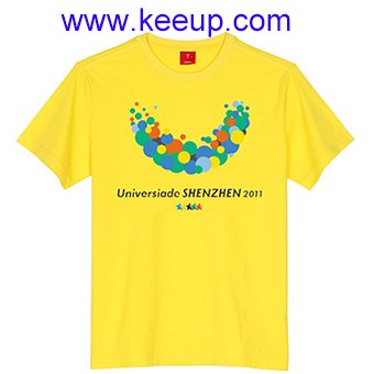 Cheap custom print advertising t-shirt