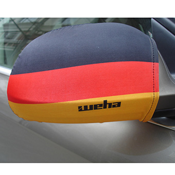 2016 hot selling customized Germany flag car rearview mirror cover