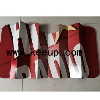 Paperboard Car Sun shade With Logo For Promotion