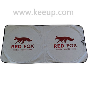 Wholesale tyvek material car sunshade with custom logo printing