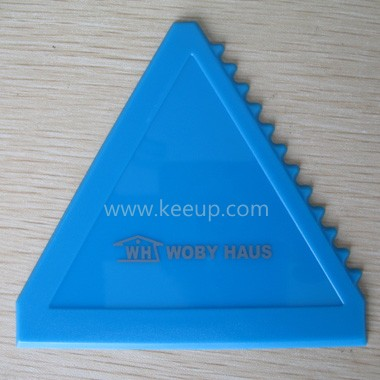 Plastic Triangle Car Ice Scraper