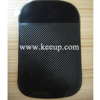 Black grid type dashboard used PU sticky pad for wholesale