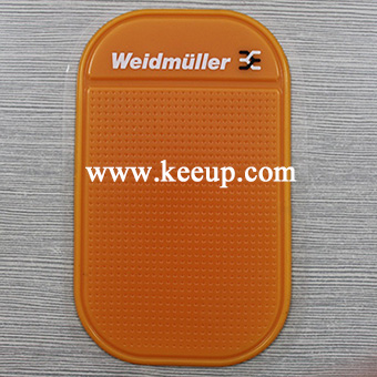 Self-adhesive pu gel anti slip car pad non slip mat for phone