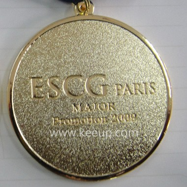 Round Medal with Ribbon