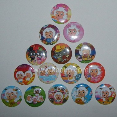 Cartoon Button Badge
