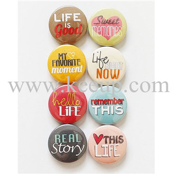 Custom Beautiful Pin Button Badge for promotional item