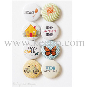 Custom Button Badge for promotional item Tinplate Badge for promo