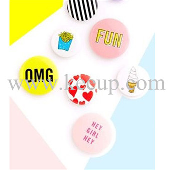 Custom colorful Tin Badge Button Badge