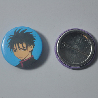 Custom Tinplate Button Badges
