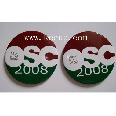 Promotional Button Badges With Pin