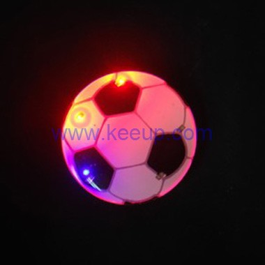 Customized Football Flashing Badges