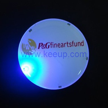 Wholesale Flashing Badges with Domed Branding
