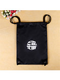 Hot sales custom cotton drawstring bag with logo