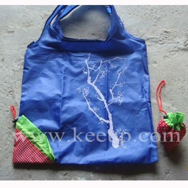 Hot Sell Strawberry Foldable Shopping Bag