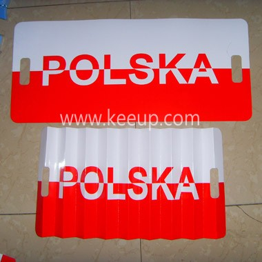 Custom Decorative Paper Banner Flags