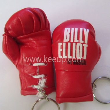 Customized boxing glove keyrings