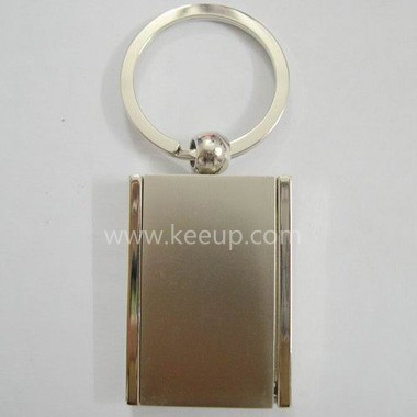 Rectangular Metal Keyrings