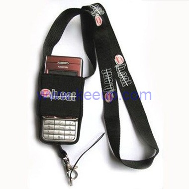Lanyard with Mobile Phone Pouch