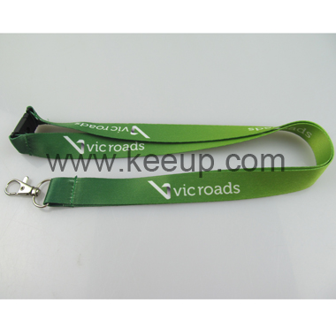 Wholesale Flat Lanyard With Safety Clip