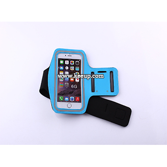 Hot quality imprinted iphone workout armband