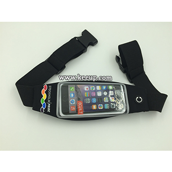 Running Waist Belt Bag with Clear Touchscreen