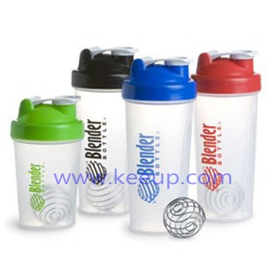 Shaker Bottle With Blender Ball