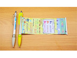 Promotional custom adversting banner pen with logo
