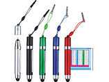 Multi-function touch screen banner pen for promotional gifts