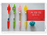 Custom adversting QR code ballpoint banner pen