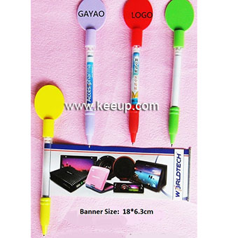 China Cheap Advertising slogan banner pens