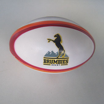 Customized PU Rugby Stress Ball for Promotion