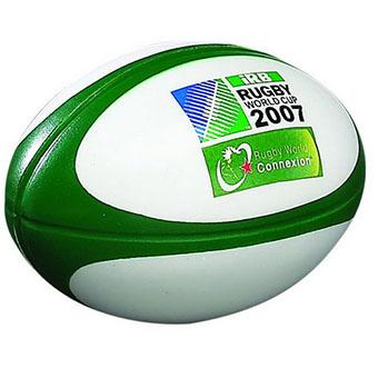 Wholesale Popular Design Custom Pu Foam Rugby Stress Ball